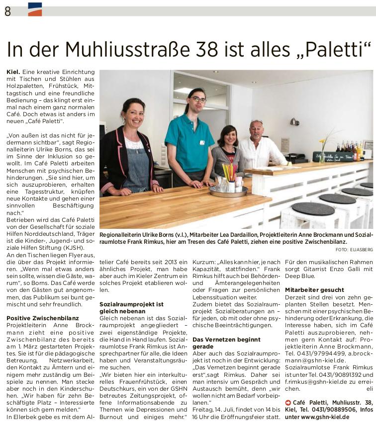 Kieler Express Artikel